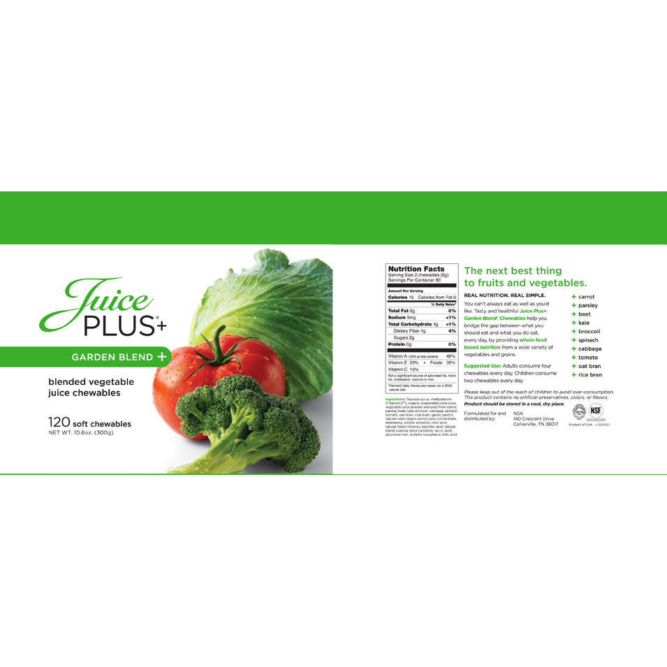 juice plus complete ingredients pdf